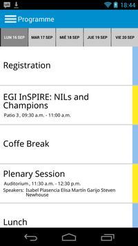 EGI Technical Forum 2013 screenshot 2