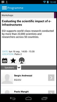 EGI Technical Forum 2013 screenshot 3