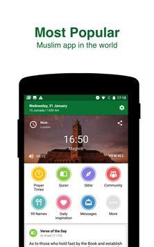 Muslim Pro - Waktu Sholat, Adzan, Quran, Kiblat poster
