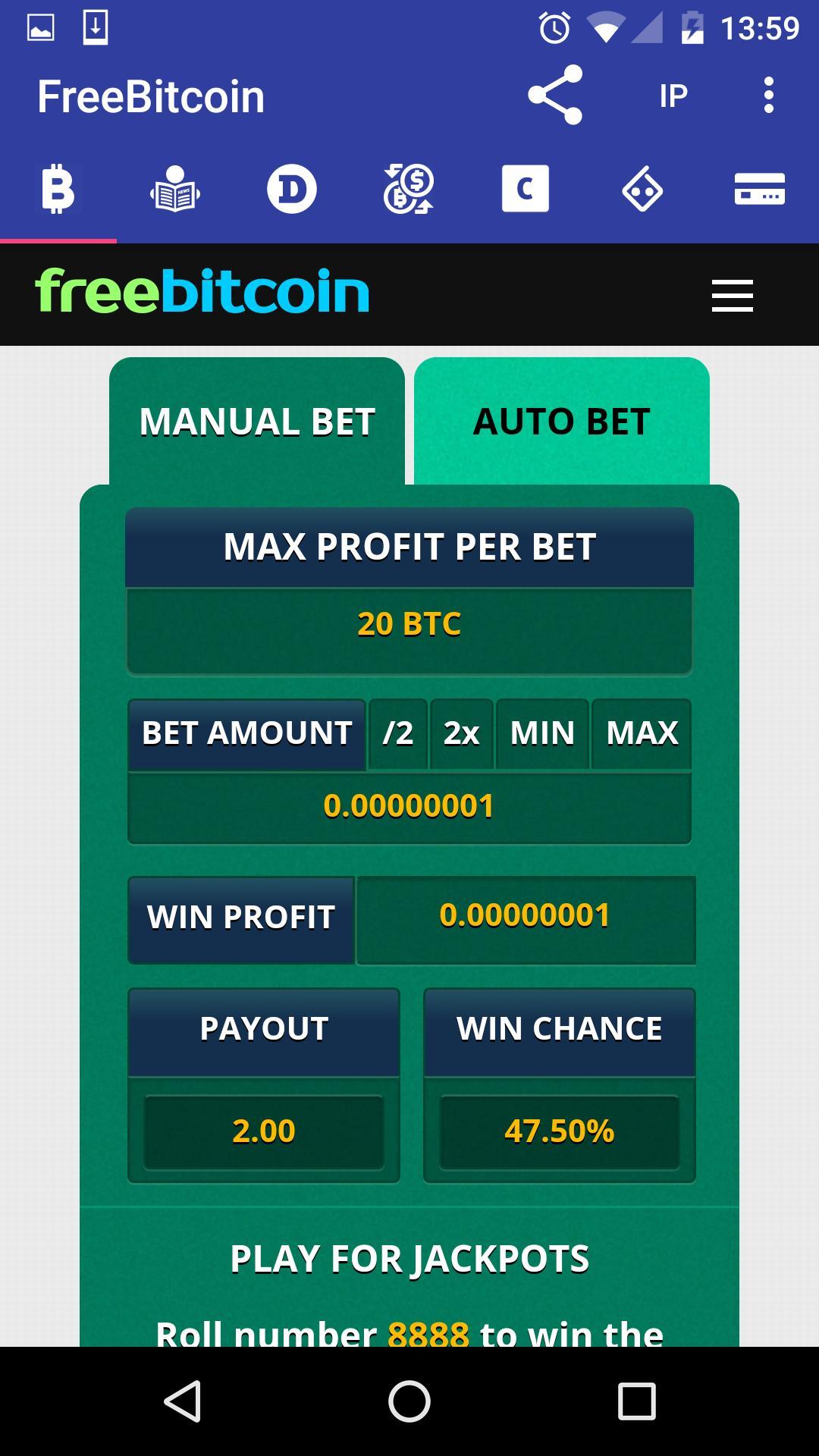 1 Free Bitcoin – Free Bitcoin