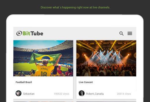 BitTube screenshot 2