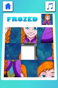 Frozen Puzzle screenshot 3