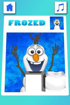 Frozen Puzzle apk screenshot