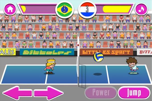 bola voli pertandingan screenshot 11