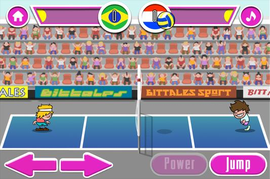bola voli pertandingan screenshot 4