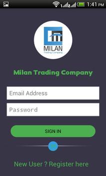 Milan Trading Company screenshot 1