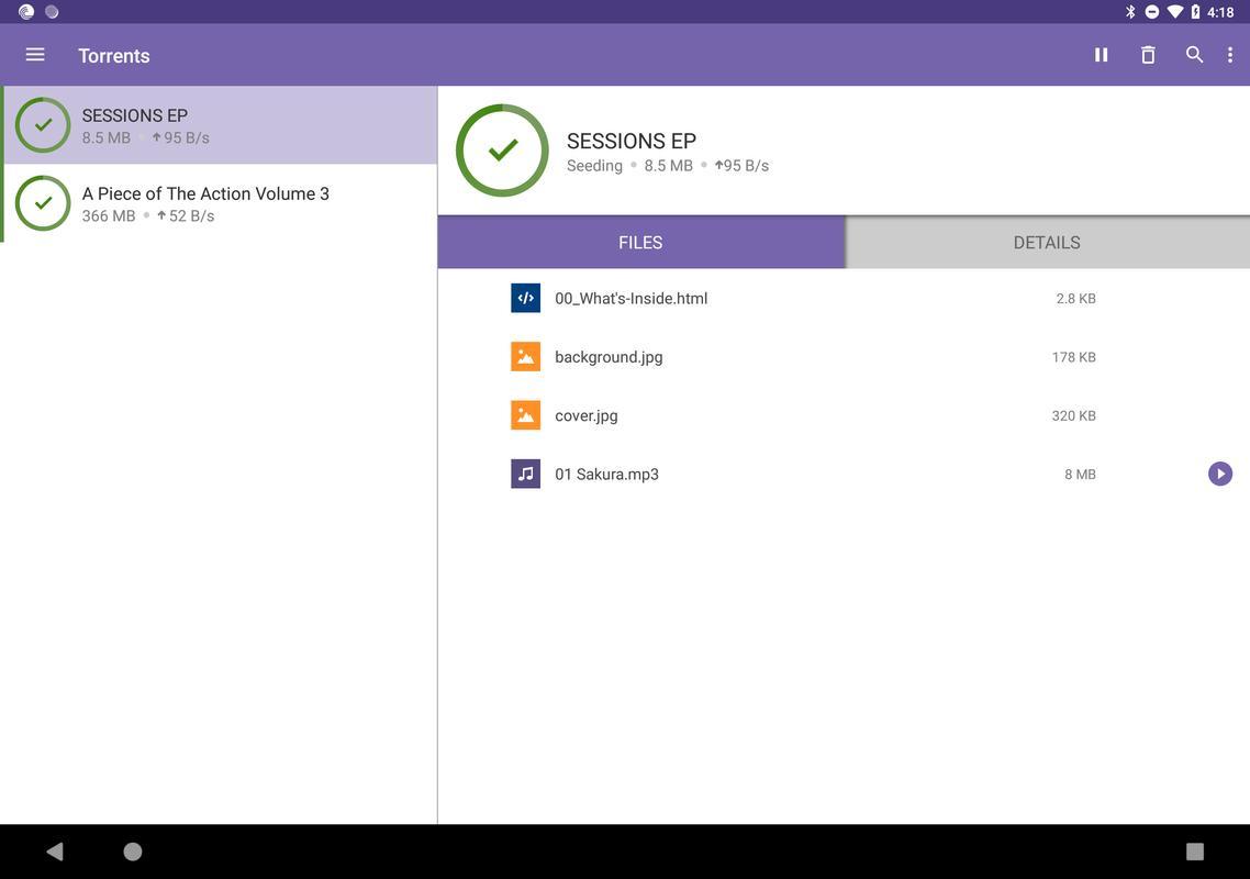 Bittorrent® torrent downloads apk download latest version 5. 4. 0.