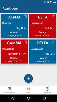BitTrack India - Bitcoin Price across Exchanges screenshot 3