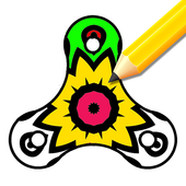 Fidget Spinner - Color and Spin icon