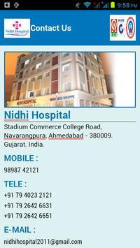 Nidhi Hospital poster