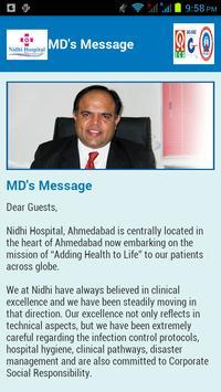 Nidhi Hospital apk screenshot