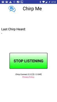 Chirp Me poster