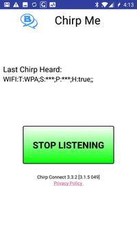 Chirp Me apk screenshot