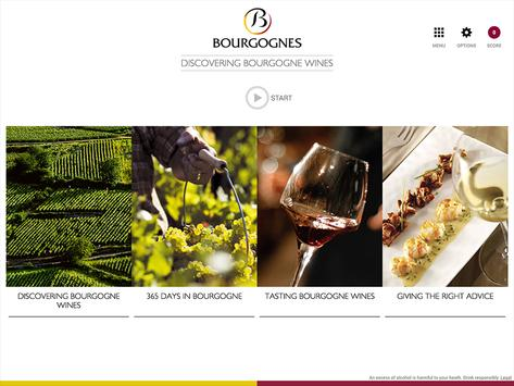 Discovering Bourgogne wines screenshot 1