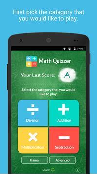Math Quizzer poster