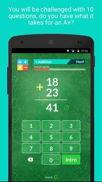 Math Quizzer screenshot 2