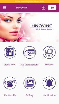 Innovinc Hair and Beauty Salon screenshot 2
