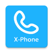 xPhone-free phone calls & cheap calls & free call icon