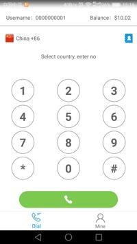 xPhone-free phone calls & cheap calls & free call screenshot 1