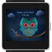 Puffy Owlet Watch Face icon