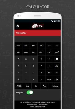 API Metal Fabrication Calc screenshot 1