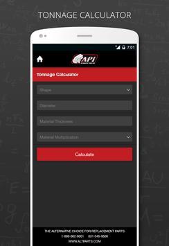 API Metal Fabrication Calc screenshot 2