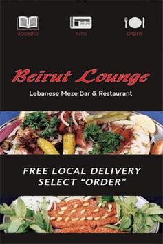 Beirut Lounge poster