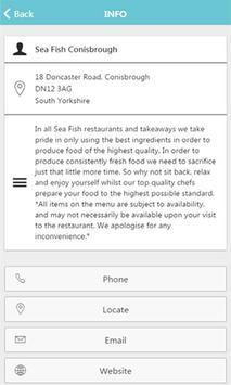 Sea Fish Conisbrough apk screenshot