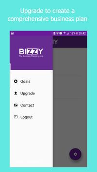 Bizzy: The Business Plan App apk screenshot