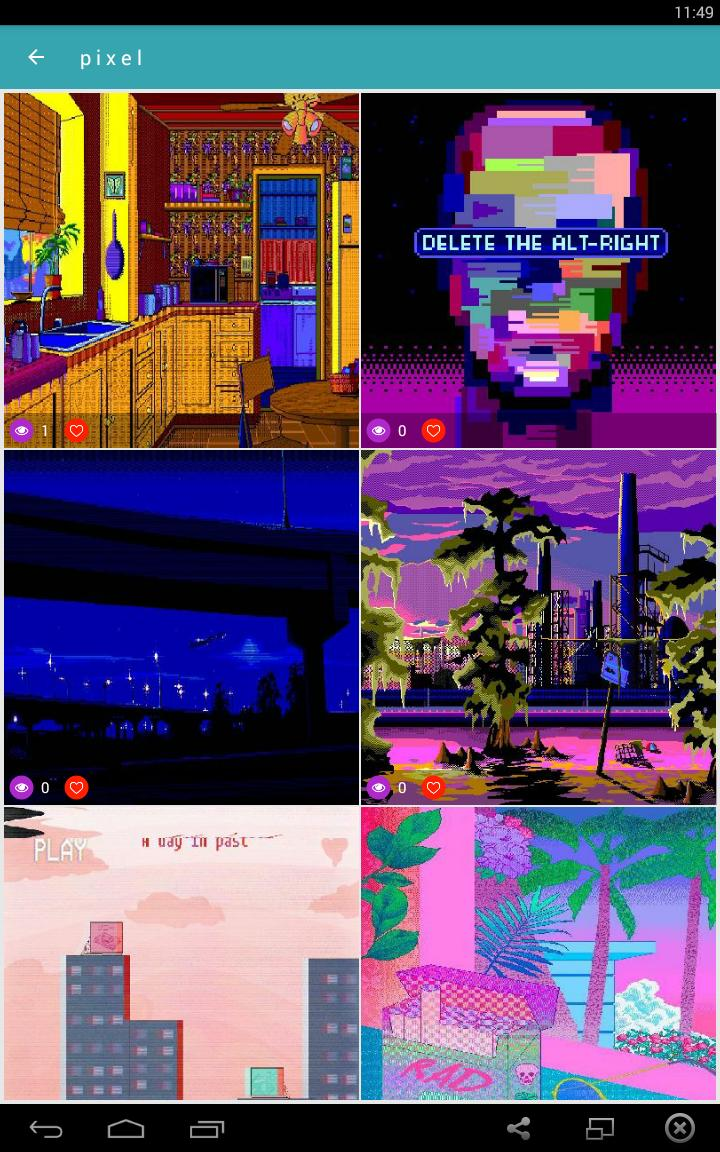 Vaporwave Wallpapers Gif Aesthetic Backgrounds For Android Apk Download