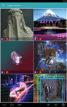 Vaporwave Wallpapers🌴GIF Aesthetic Backgrounds🐬 screenshot 4