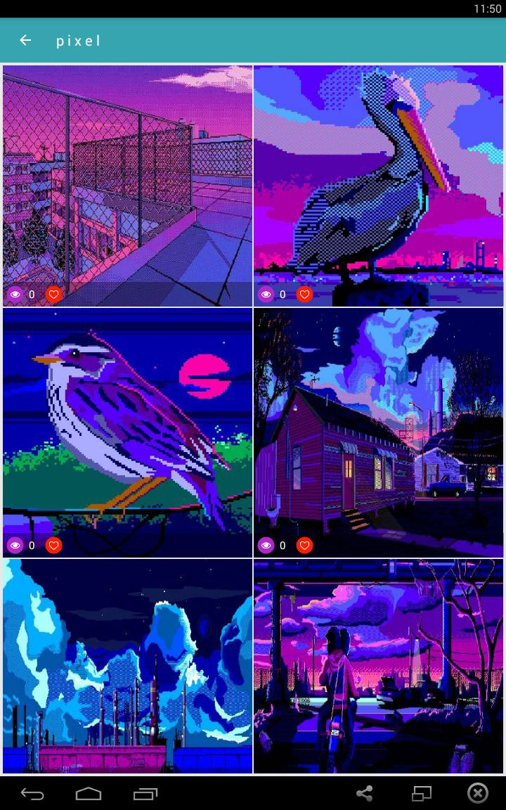 Vaporwave Wallpapers🌴GIF Aesthetic Backgrounds🐬 for ...