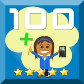 Make 100 Brain excercise icon