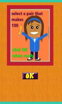 Make 100 Brain excercise poster