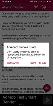 Abraham Lincoln screenshot 3