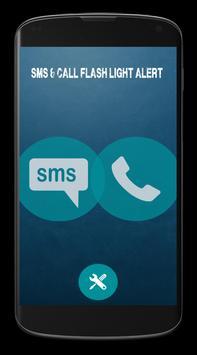 SMS/CALL Flashlight Alert 2015 poster