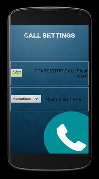 SMS/CALL Flashlight Alert 2015 apk screenshot