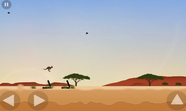 Outback Escape - the jumping game poster