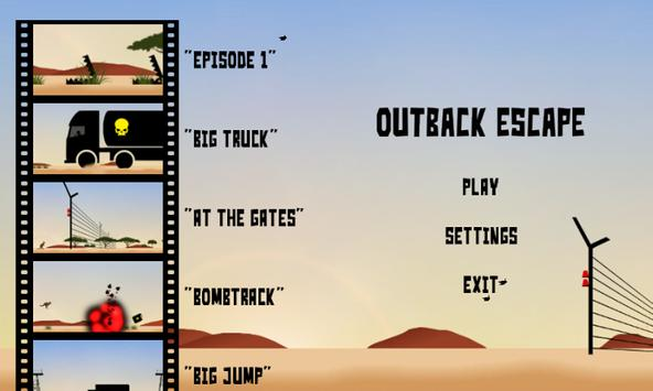 Outback Escape - the jumping game apk screenshot