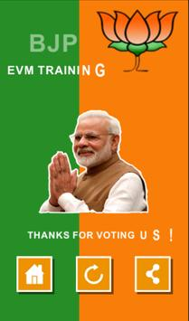 BJP EVM Training apk screenshot