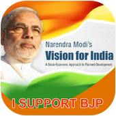 BJP Profile Maker icon