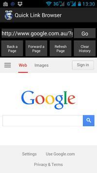 Quick Link Browser screenshot 4