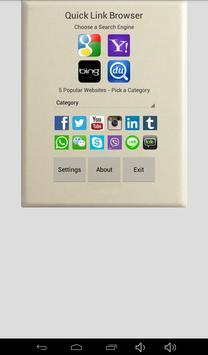 Quick Link Browser screenshot 5