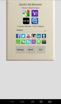 Quick Link Browser screenshot 6