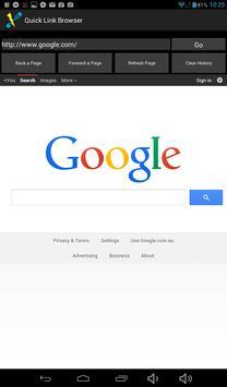 Quick Link Browser screenshot 7