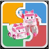 Fun Puzzle Robocar Toy Jigsaw icon