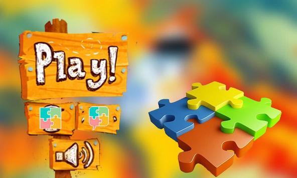 Fun Puzzle Robocar Toy Jigsaw poster