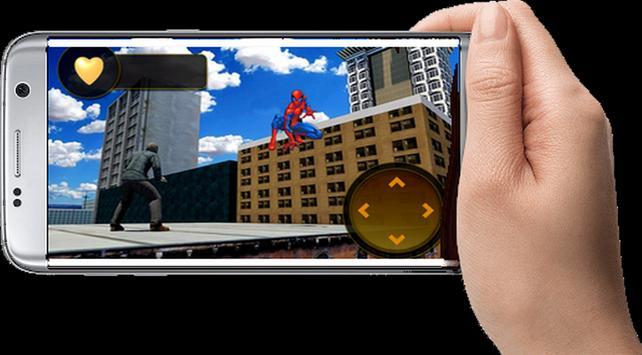 Fοrtnitе Super City Spider Hero 3D screenshot 1