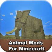 Top Animal Mods For MCPE icon