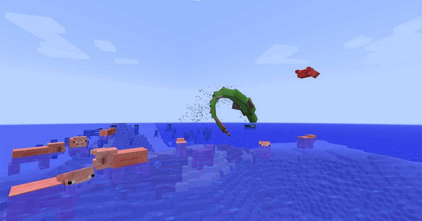 minecraft mod aquatic abyss ocean creatures mods sea monster mythical serpent serpents curseforge mobs oceans fish apk java v1 mc
